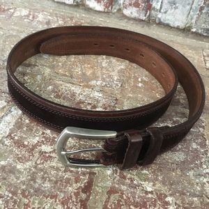 Henry Cotton's Men's Leather/Suade Belt